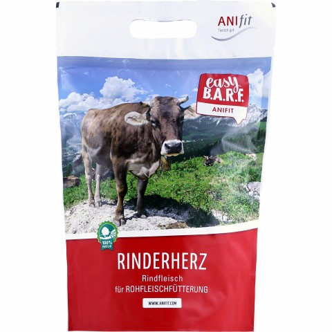 Easy Barf Rinderherzen 350g (1 Stück)